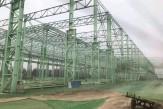 巨能特钢高品质特精钢整生产线项目钢结构工程(建筑面积:95000m2)