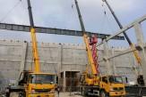 泰安玻纤联合厂房廊桥钢结构工程